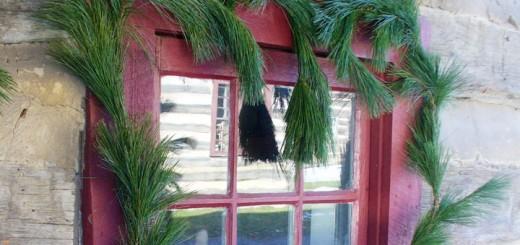 Hagenbuch Cabin Window Christmas