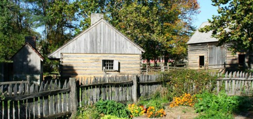 Log House Barn Landis Valley Museum