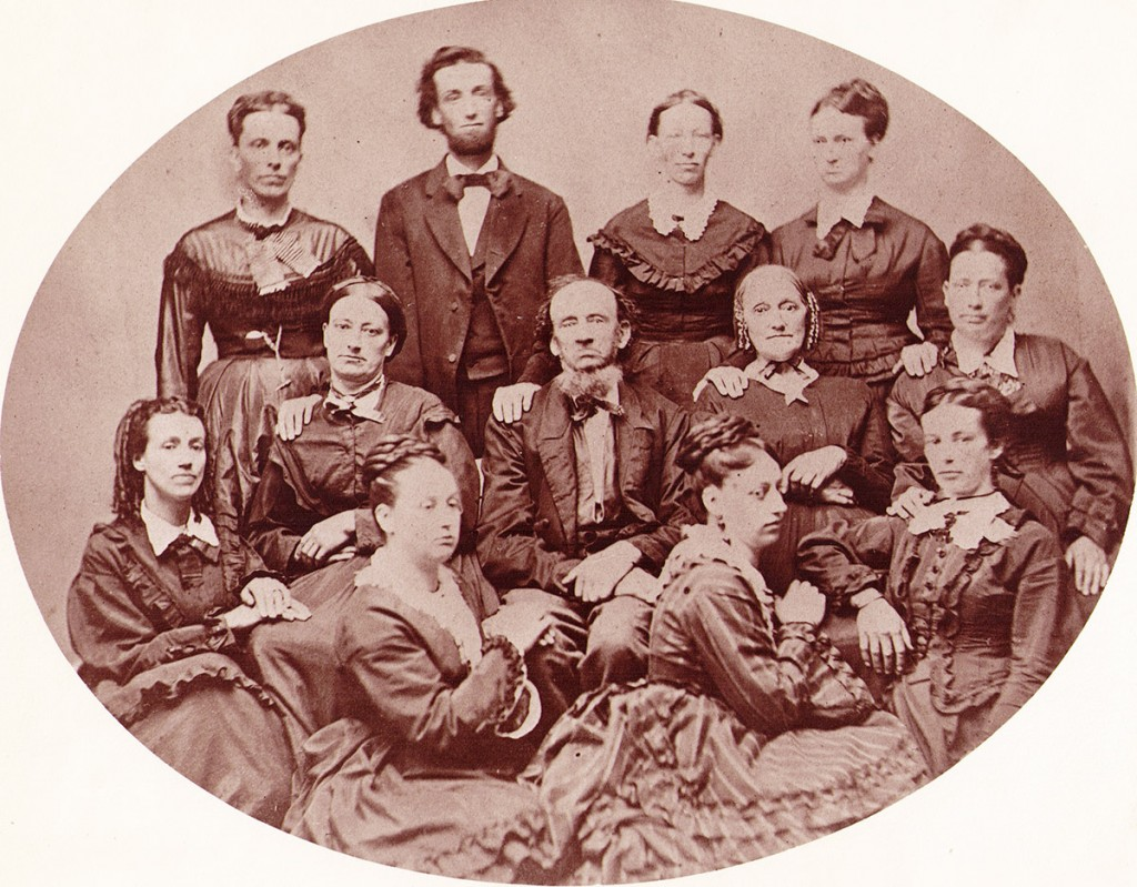 "Samuel and Susanna ""Hess"" Hagenbuch Family 1880"