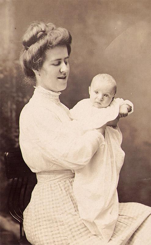 "Sarah ""Foust"" Bibby Daughter Ethel Bibby"