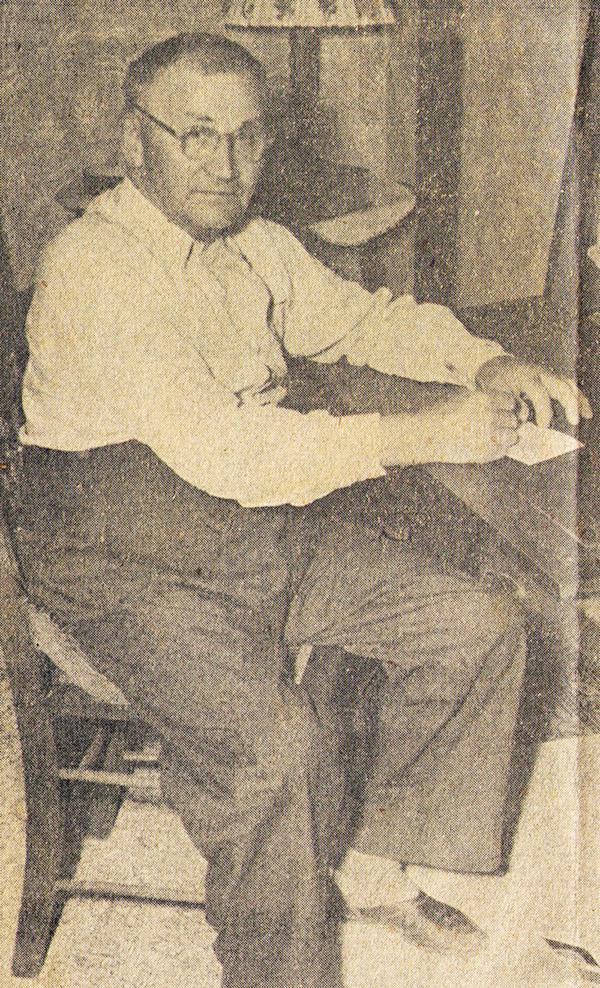 Percy Hagenbuch 1952