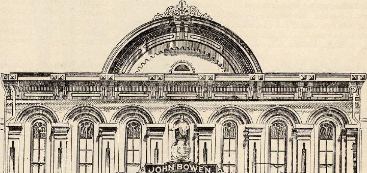 Hagenbuch Opera House Bowen Grocery Allentown