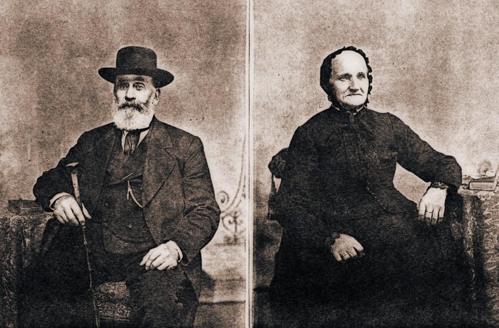 Enoch Hagenbuch and Christina Hagenbuch 1890