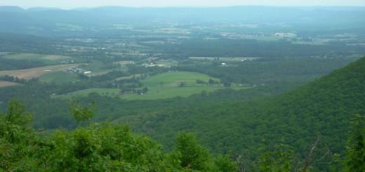 Pennsylvania Mountain View