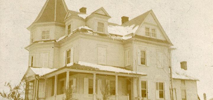 Hiram Hagenbuch House 1890 Detail