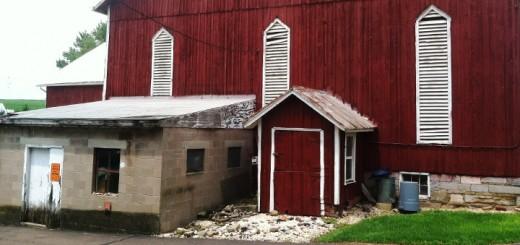 Barn Entryway Hagenbuch Farm