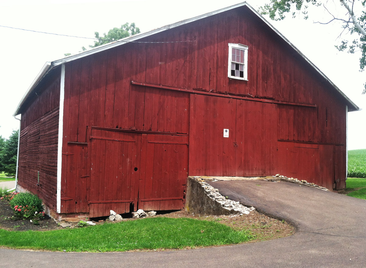 Life on a hagenbuch farm part 2 sibling memories for Equipment shed