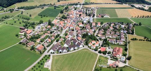 Hagenbuch Switzerland Aerial View