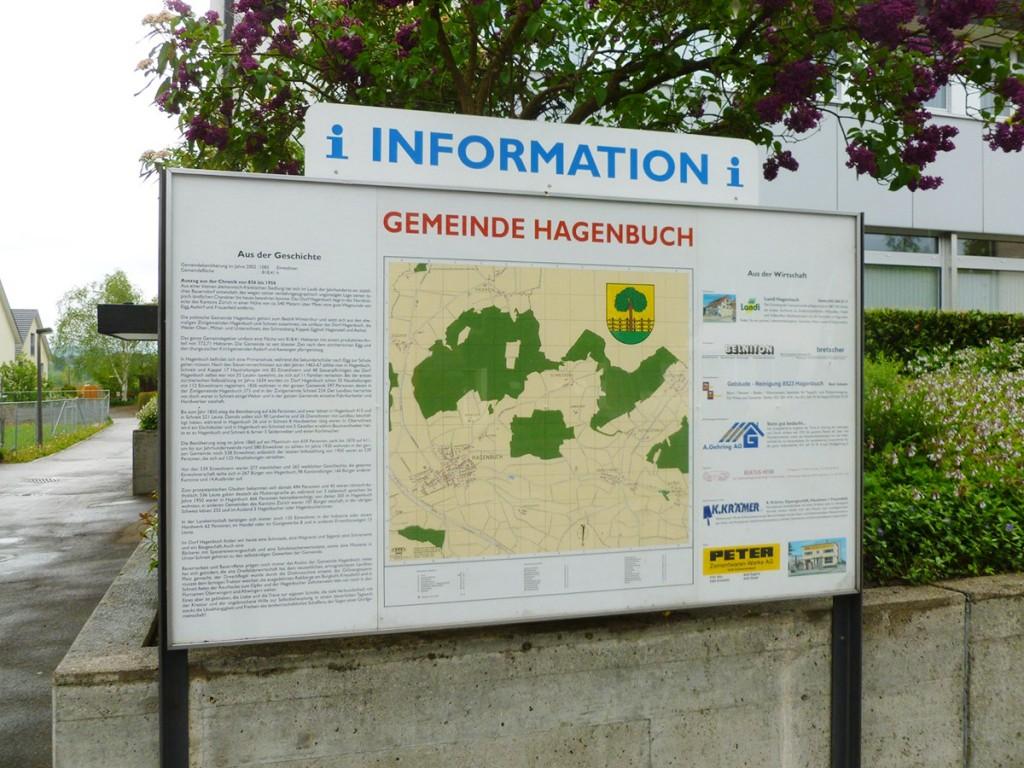 Hagenbuch Switzerland Information Board