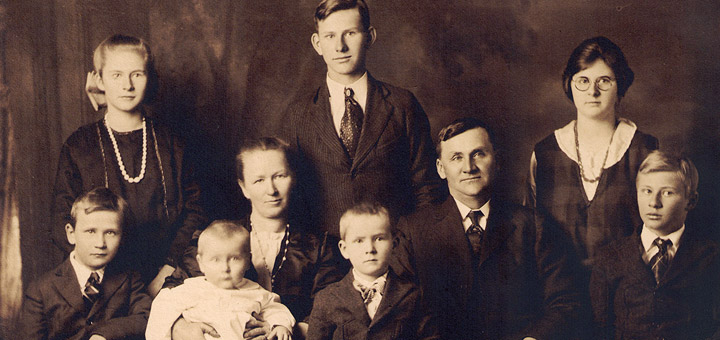 Percy & Gertrude Hagenbuch Family