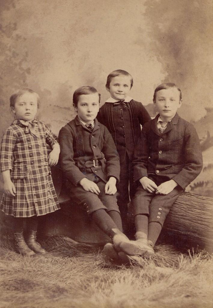 Israel, Francis Eugene, Henry Bruce, Percy Hagenbuch