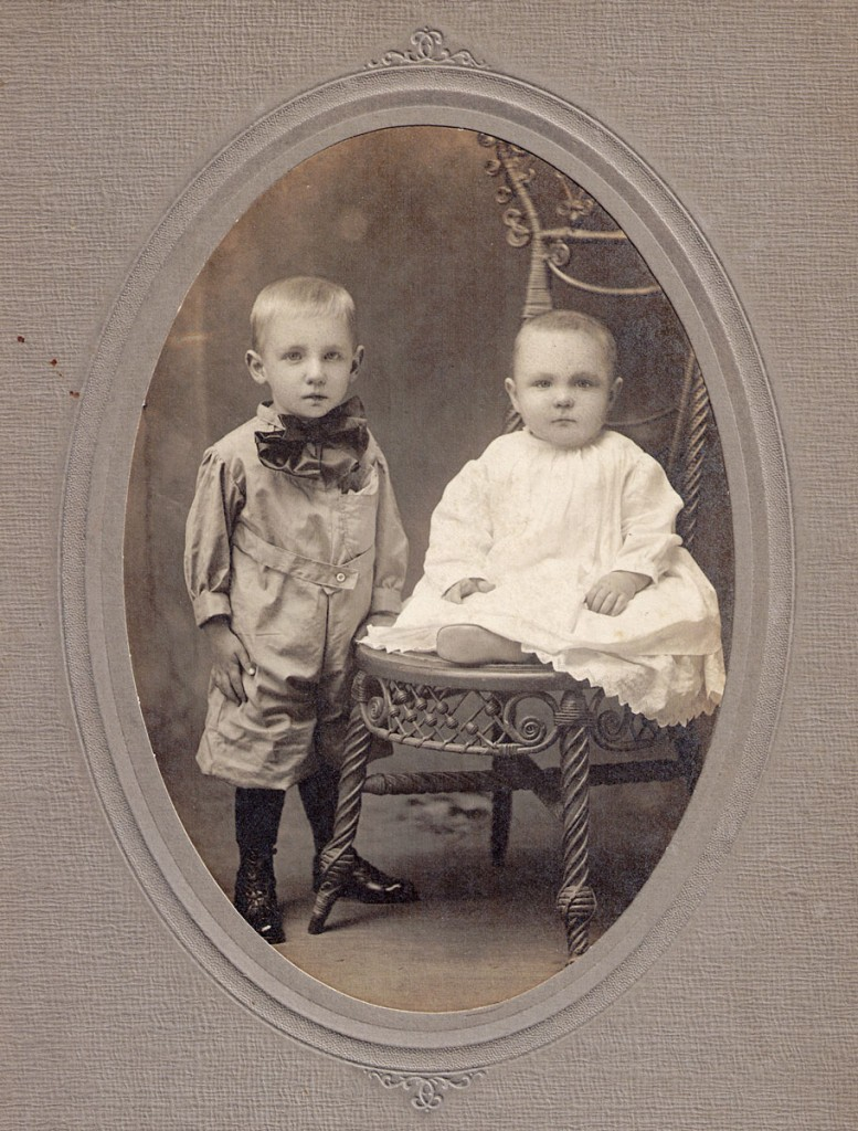 Israel Walter and Andrew James Hagenbuch, 1912