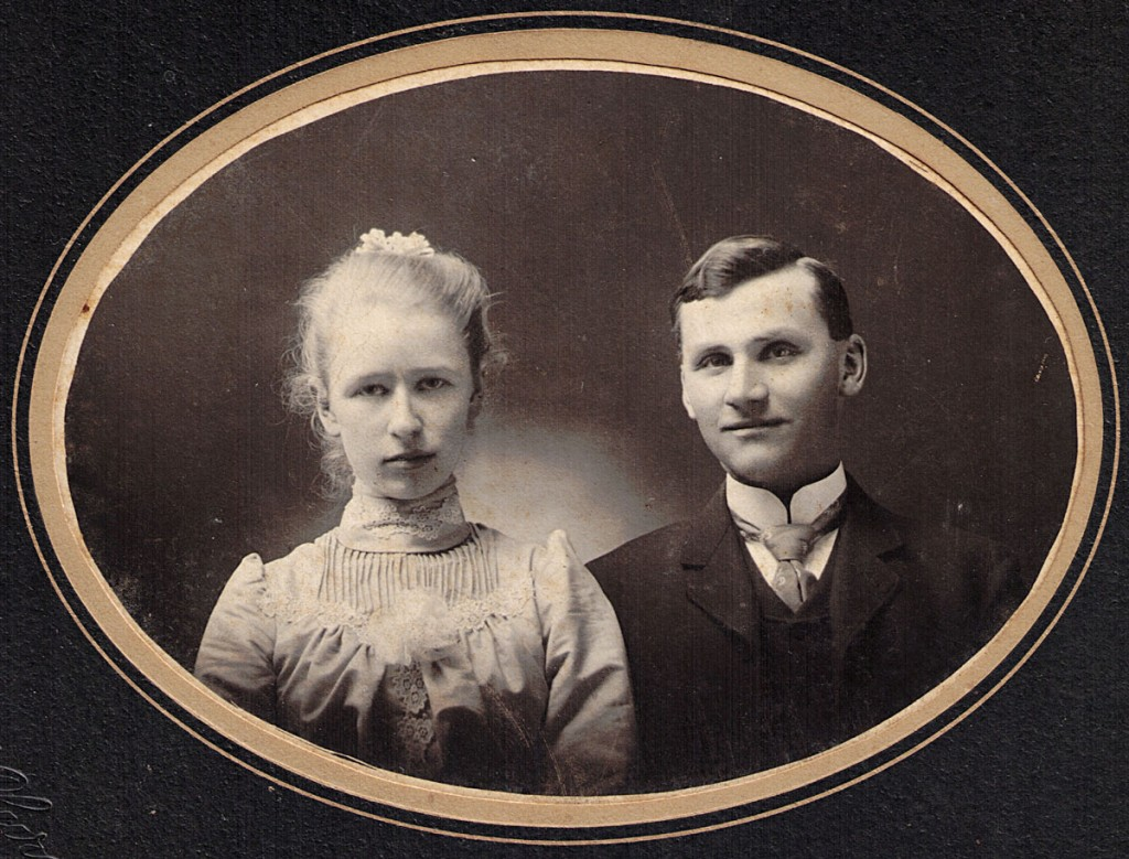 Percy and Gertrude Hill Hagenbuch Wedding