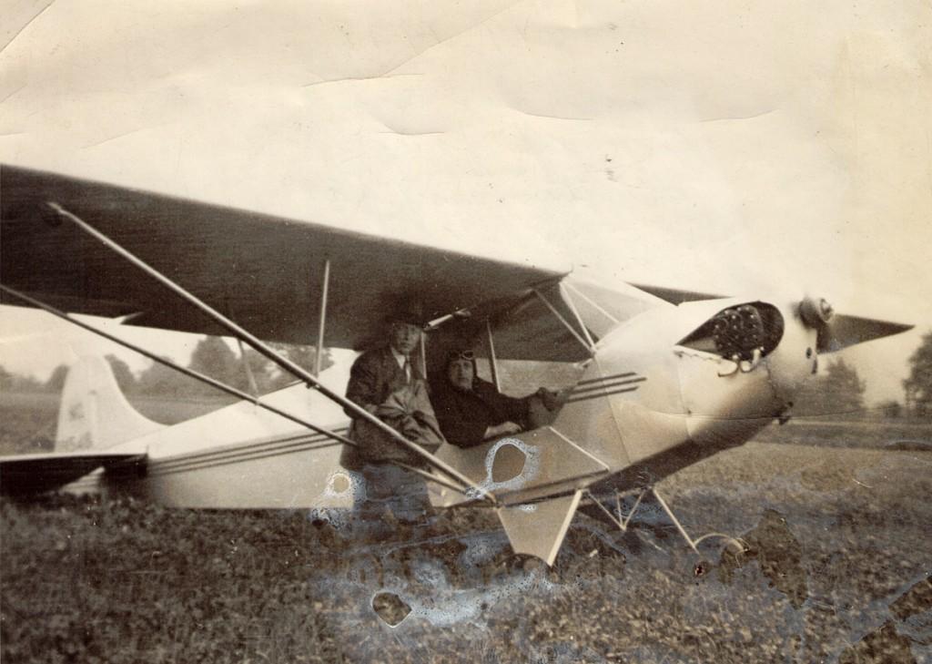 RD Hiram Hagenbuch Airmail Montgomery PA 1938
