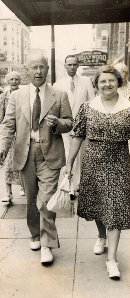 RD Hiram and Pauline Hagenbuch 1938