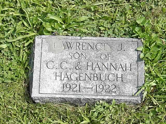 Lawrence Hagenbuch Gravestone