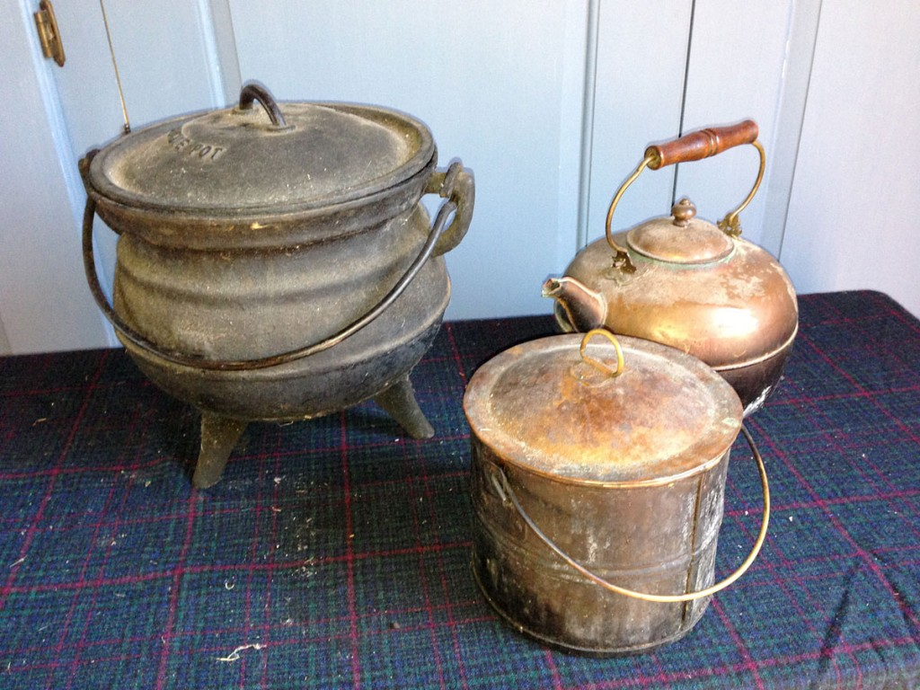 Kettles and Pot