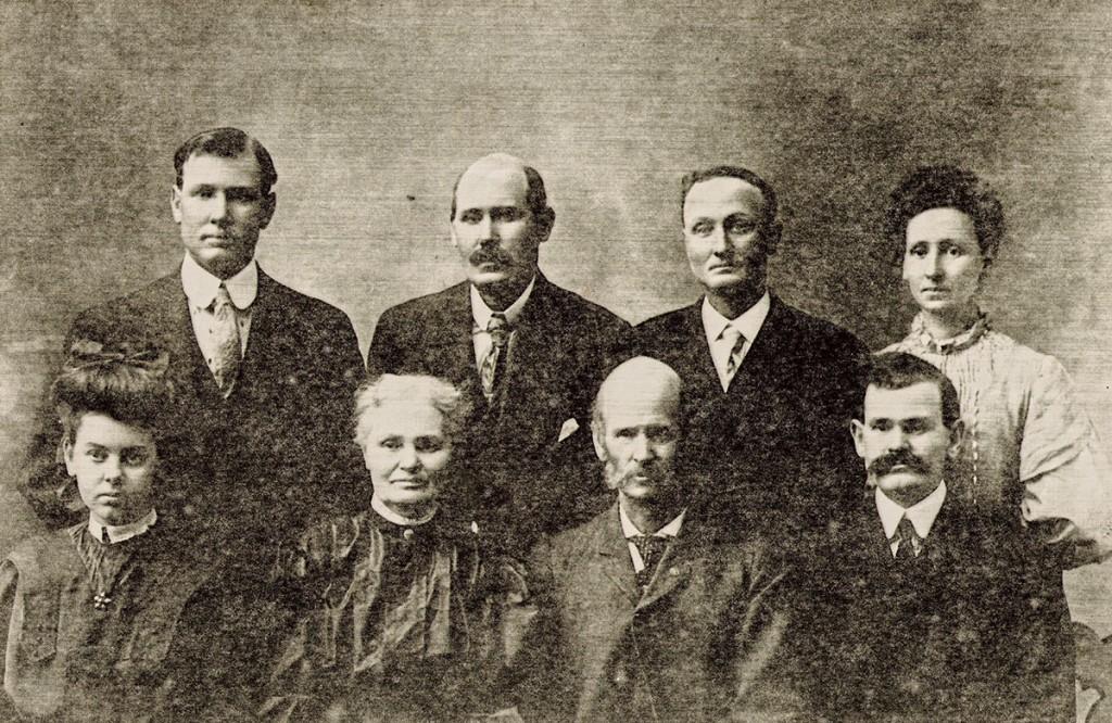 Eli Thornton Hagenbuch Family