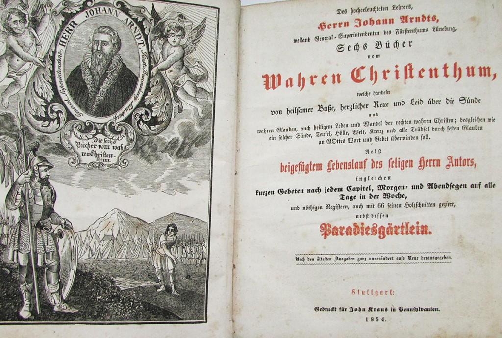 Wahres Christentum 1854