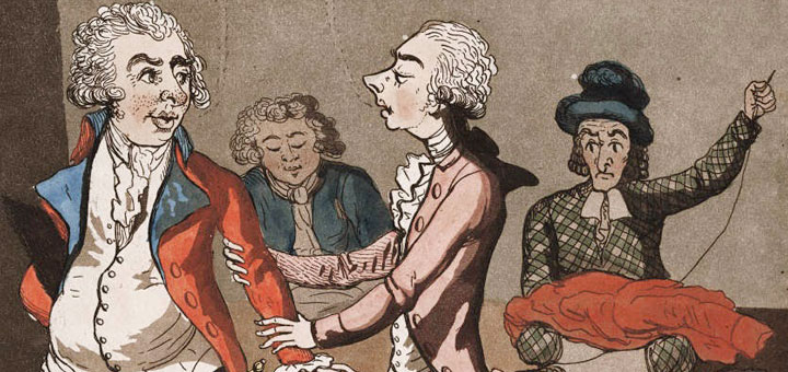 London Tailor Cartoon 1799