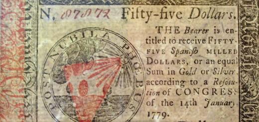 Continental Money 1779 Detail