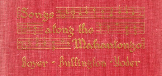 Songs Along the Mahantongo Book Cover