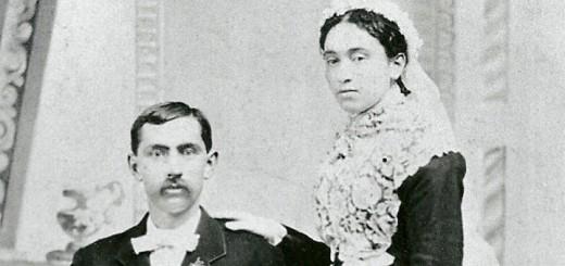 """Albert Ira & Martha """"Kehr"""" Hagenbuch 1883"""