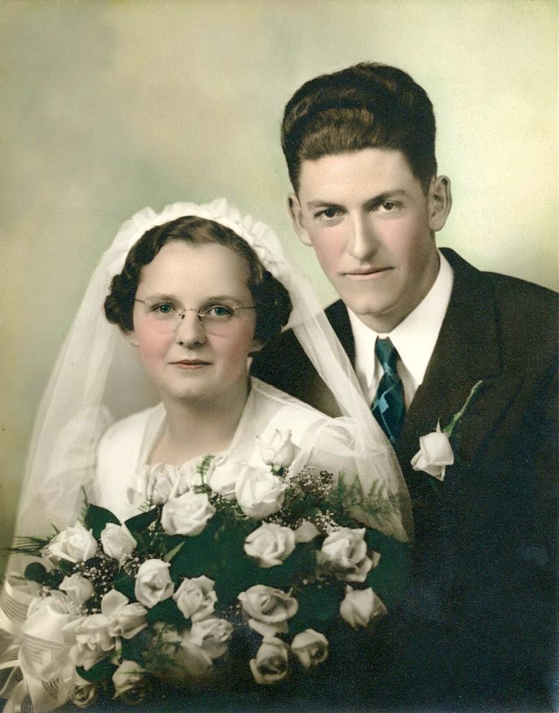 Charles (Chuck) & Ethel Davis Hagenbuch 1938