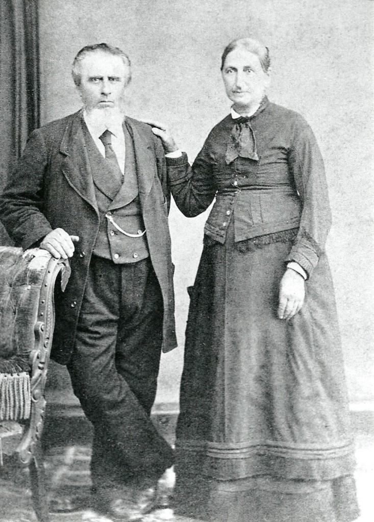 "Charles & Julia ""Fusselman"" Hagenbuch"