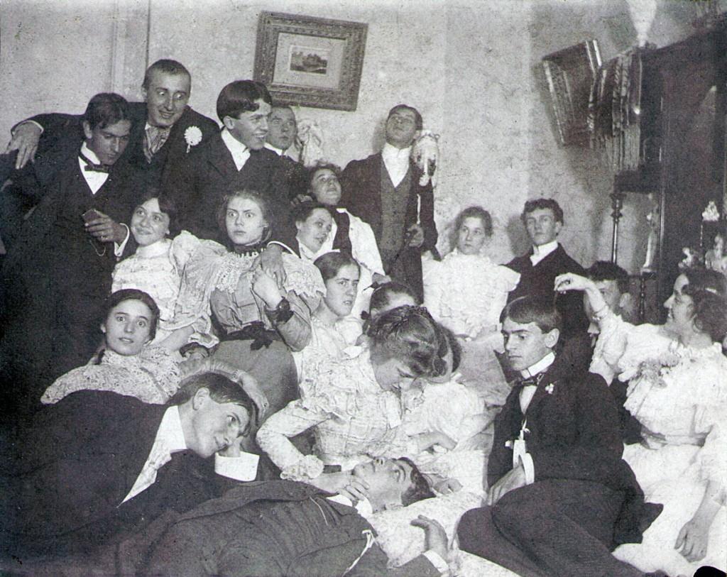 Euchre Party Hagenbuch Photo 1897