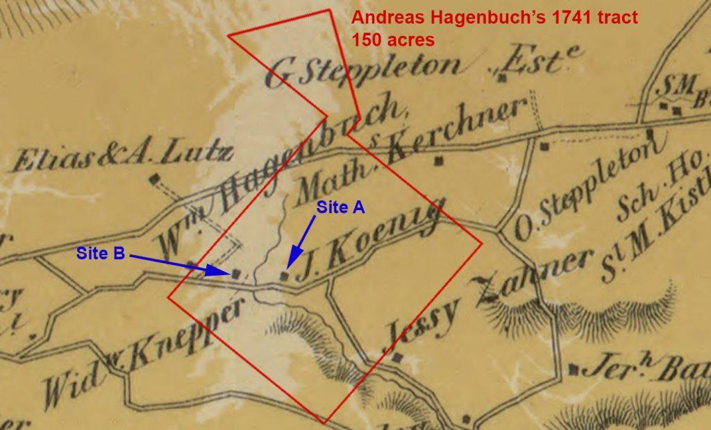 Albany Township Hagenbuch Homestead 1860