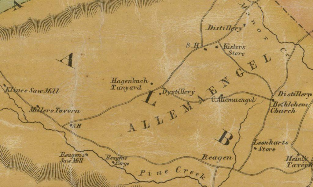 Albany Township Hagenbuch Tanyard 1854