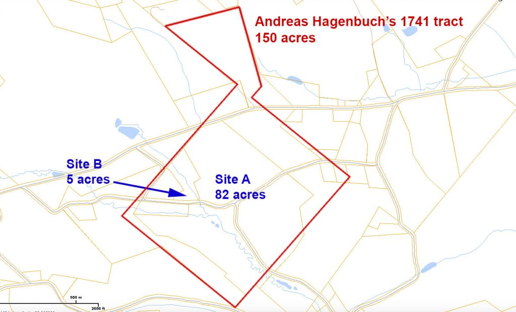 Andreas Hagenbuch 1741 Home Tract