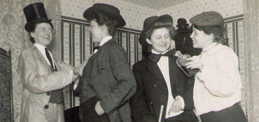 Hagenbuch Ladies Victorian Tableau Detail