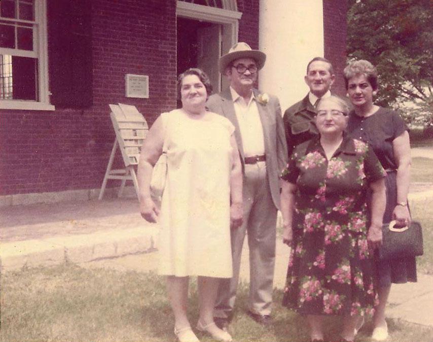 Helen, Paul, Clyde, Jean, Kathryn 1982