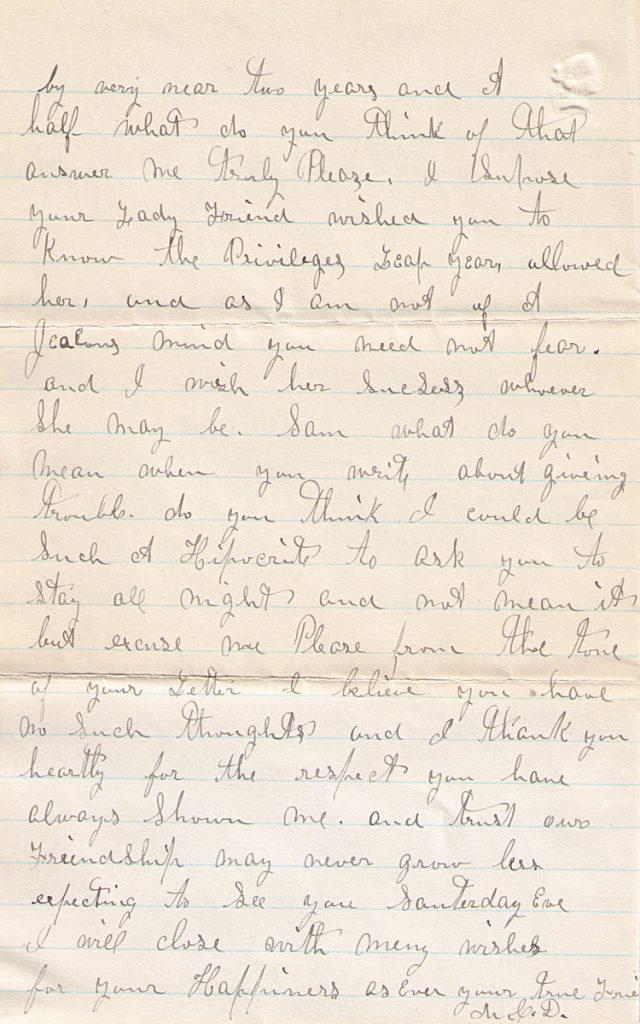 Mary Davis Letter January 28, 1880