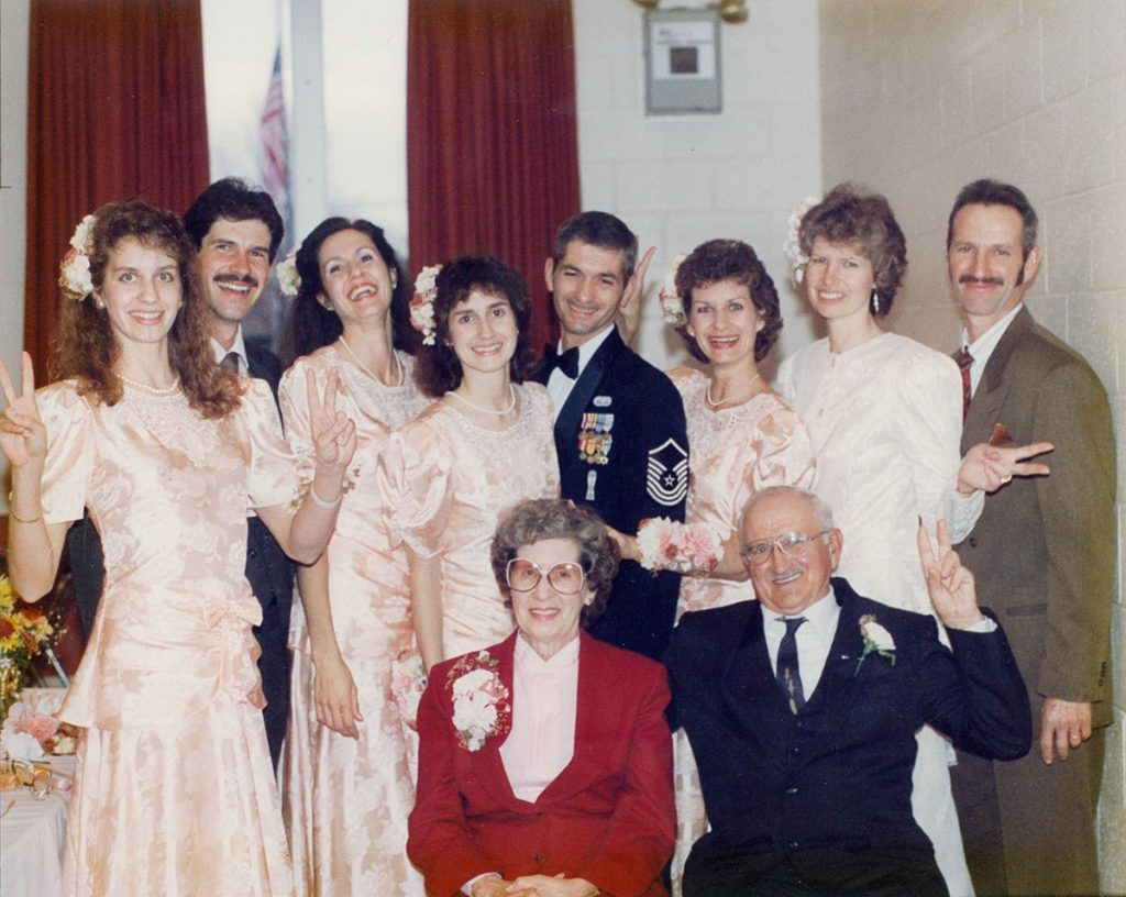 """Roy and Mildred """"Yingling"""" Hagenbuch Family 1991"""