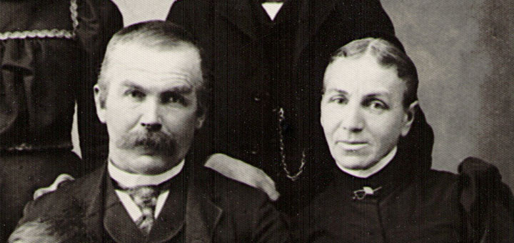 "Samuel and Mary ""Davis"" Sechler c. 1898"