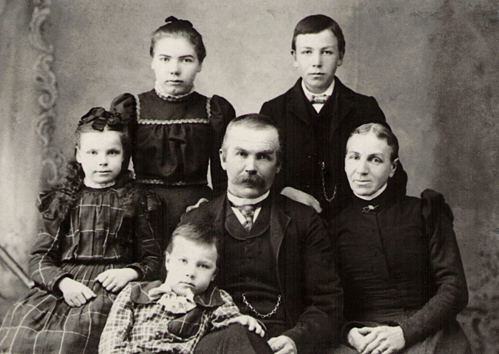 Samuel Mary Davis Sechler Family 1894