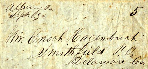 Timothy & Enoch Hagenbuch Letter 1851
