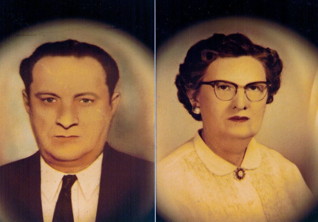 Robert DelRoy II & Mildred Tepe Hagenbuch 1945