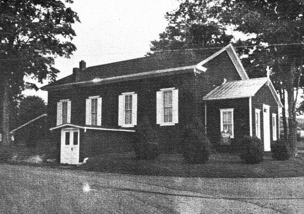 Oak Grove Lutheran Church Exterior 1969