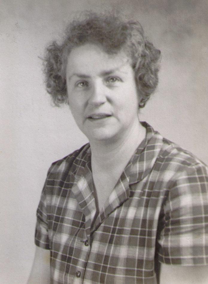 Ethel Bibby 1960