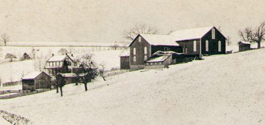 """John & Emma """"Hagenbuch"""" Reichard Farm 1895 Detail"""