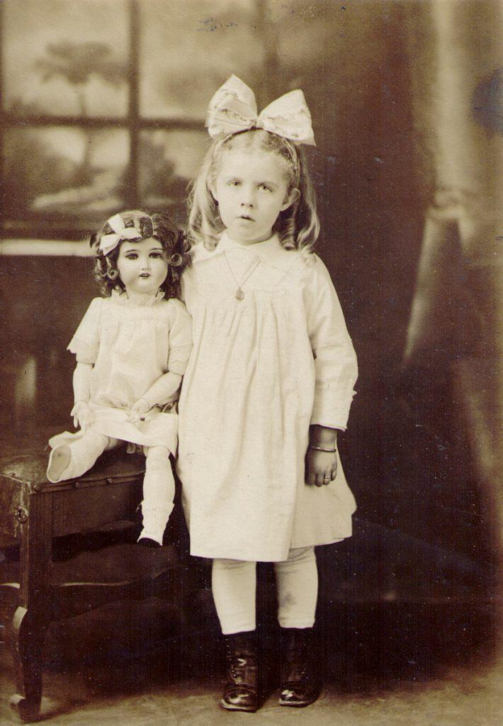 Mary Ann Reed & Dolly c. 1916
