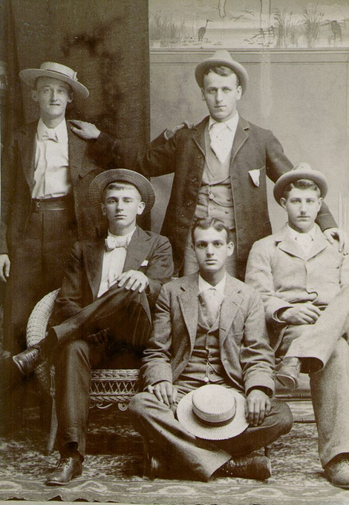 Oscar Foust & Friends, c. 1900