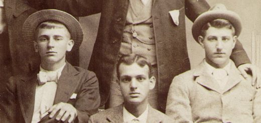 Friends of Oscar Foust, c. 1900