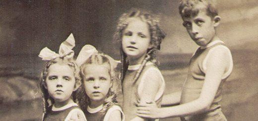 Reed, Bibby children 1916