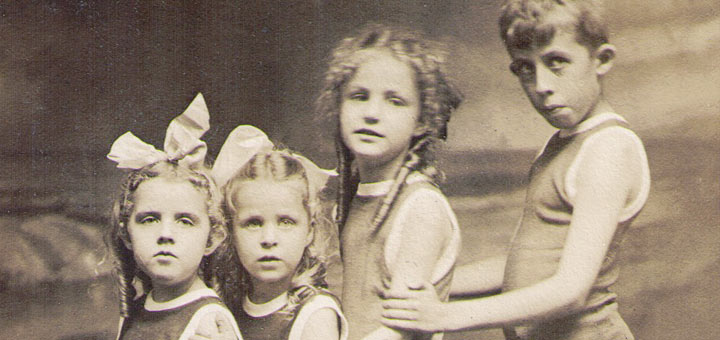 Reed, Bibby children 1916