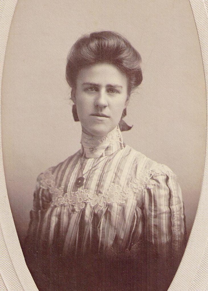 Sarah Foust Bibby 1900